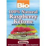 Bio Nutrition General Health – 100% Natural Raspberry Ketone – 60