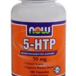 NOW Nervous System Support – 5-HTP 50 mg – 180 Capsules