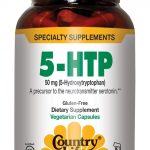 Country Life Nervous System Support – 5-HTP Tryptophan 50 mg – 50