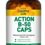 Country Life Vitamins – Action B-50 – 50 Vegetarian Capsules