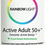 Rainbow Light Multivitamins – Active Adult 50+ Formerly Active