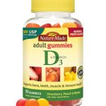 Nature Made Immune Support – Adult Gummies Vitamin D3 (Assorted