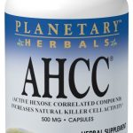 Planetary Herbals Herbals/Herbal Extracts – AHCC 500 mg – 30 Capsules