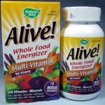 Nature's Way Immune Support – Alive! Multi-Vitamin (with Iron) – 90