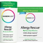 Rainbow Light Allergy Relief – Allergy Rescue – 60 Tablets