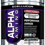 Cellucor Sports Drinks and Mixes – Alpha Amino Fruit Punch – 30