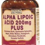 Only Natural Metabolic Support – Alpha Lipoic Acid Plus 200 mg – 60
