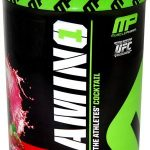 MusclePharm Sports Drinks and Mixes – Amino 1, Cherry Limeade Flavor –