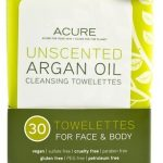 Acure Organics Skin Care – Unscented Argan Oil Cleansing Towelettes