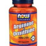 NOW Amino Acids – NOW Sports – Arginine & Ornithine 500/250 – 100