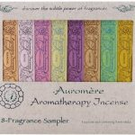 Auromere Fragrances – Aromatherapy Incense Sample Pack – 8 Count