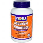 NOW Cellular Support – Ascorbyl Palmitate 500 mg – 100 Vegetarian