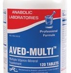aved-multi-120-dark-yellow-speckled-oval-tablet-by-anabolic-laboratories