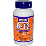NOW Nervous System Support – B-12 1000 mcg – 250 Lozenges