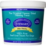 Stewart Dogs – Beef Liver Freeze Dried Tub for Dogs – 14 oz (396.89