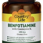 Country Life Metabolic Support – Benfotiamine with Coenzyme B1 – 60