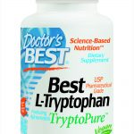 Doctor's Best Nervous System Support – Best L-Tryptophan TryptoPure