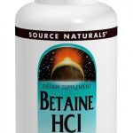 Source Naturals Gastrointestinal/Digestive – Betaine HCL 650 mg – 180