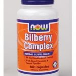 NOW Herbals/Herbal Extracts – Bilberry Complex – 100 Veg Capsules