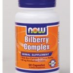 NOW Herbals/Herbal Extracts – Bilberry Complex – 50 Veg Capsules