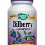 Nature's Way Cardiovascular Support – Bilberry Standardized – 90