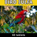 Thomas Labs Birds Health & Wellness – Bird-Sulfa – 60 Tablets