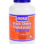 NOW Herbals/Herbal Extracts – Black Cherry Fruit Extract 750 mg – 180