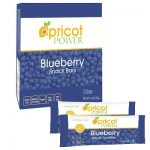 Apricot Power Snacks – Blueberry Whole Food Bars – Box of 12 Bars