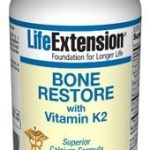 Life Extension Joint Support – Bone Restore with Vitamin K2 – 120