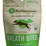 Pet Naturals of Vermont Dogs – Breath Bites with Natural Deodorizers