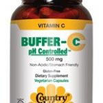 Country Life Vitamins – Buffer-C pH Controlled 500 mg – 120 Vegetarian