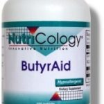 NutriCology Gastrointestinal/Digestive – ButyrAid – 100 Tablets