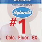 Hyland's Homeopathic Remedies – Calcarea Fluorica 6X – 1000 Tablets
