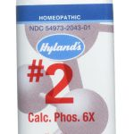 Hyland's Homeopathic Remedies – Calcarea Phosphorica 6X – 500 Tablets