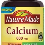 Nature Made Joint Support – Calcium 600 mg with Vitamin D – 60 Tablets