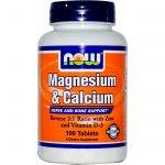 NOW Joint Support – Calcium & Magnesium – 100 Tablets