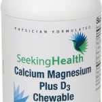 Seeking Health Joint Support – Calcium Magnesium Plus D3 Chewable –