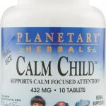 Planetary Herbals Children's Formulas – Calm Child 432 mg – 10 Tablets