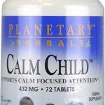 Planetary Herbals Children's Formulas – Calm Child 432 mg – 72 Tablets