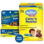 Hyland's Children's Formulas – 4 Kids Calm 'n Restful – 125 Tablets