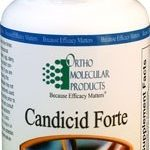 Ortho Molecular Products Gastrointestinal/Digestive – Candicid Forte –