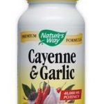 Nature's Way Cardiovascular Support – Cayenne and Garlic – 100