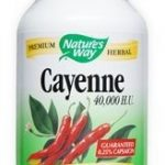 Nature's Way Immune Support – Cayenne Pepper – 180 Capsules