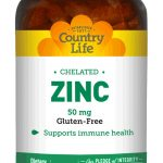 Country Life Immune Support – Chelated Zinc 50 mg – 100 Tablets