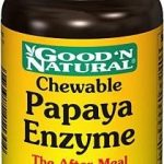 Good and Natural Metabolic Support – Chewable Papaya Enzyme – 100