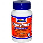 NOW Gastrointestinal/Digestive – ChewyZymes – 90 Chewables