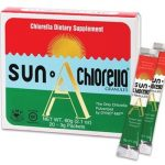 Sun Chlorella General Health – Chlorella Granules – 20 – 3 Grams