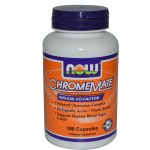 NOW Metabolic Support – ChromeMate – 180 Capsules