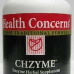 Health Concerns Herbals/Herbal Extracts – Chzyme – 90 Tablets