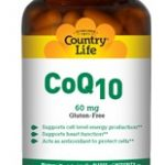 Country Life Cardiovascular Support – Co Q-10 60 mg – 30 Vegetarian